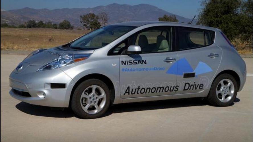 Nissan: la guida autonoma pronta entro il 2020