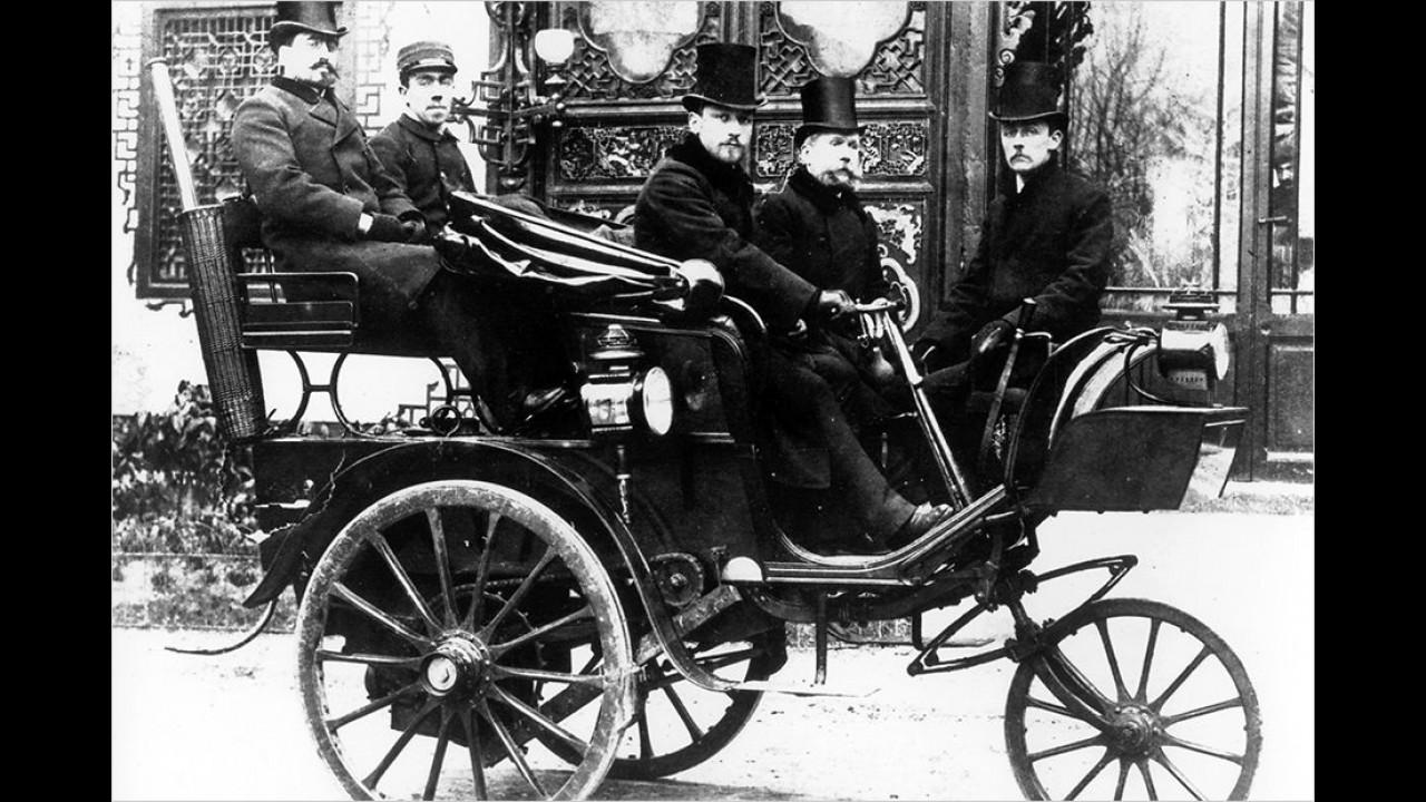1889: Erstes Peugeot-Automobil