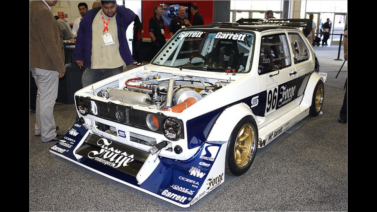 VW Golf I extrem