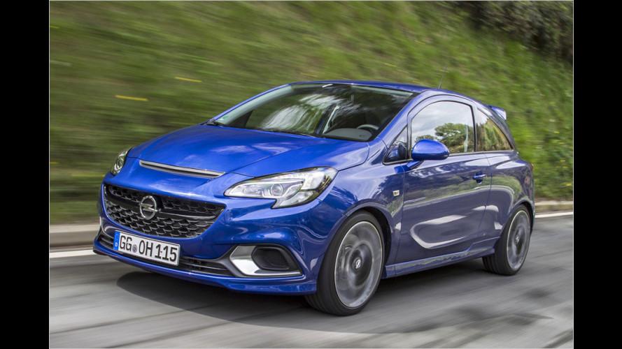 Test: So fährt sich der neue Opel Corsa OPC