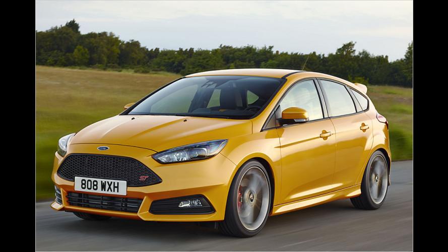 Das kostet der geliftete Focus ST (2014) als Benziner und Diesel