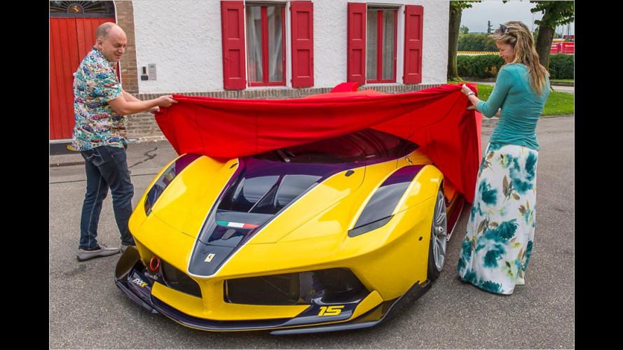 Ein Ferrari FXX K zum Geburtstag