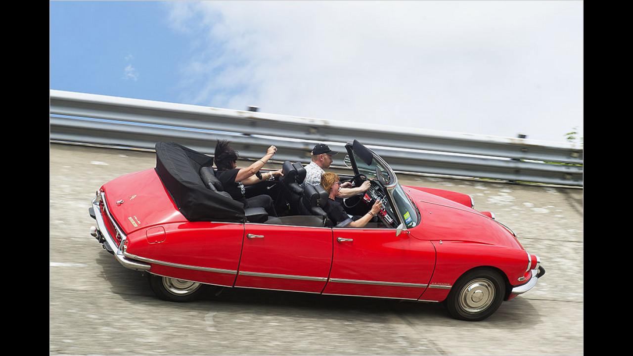 Citroën DS Cabriolet Usine