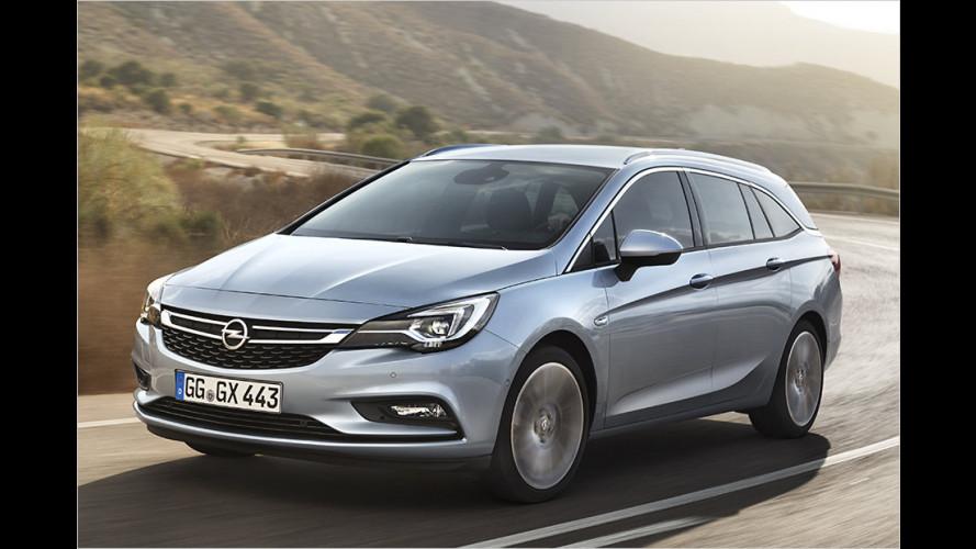 So kommt der Opel Astra Sports Tourer