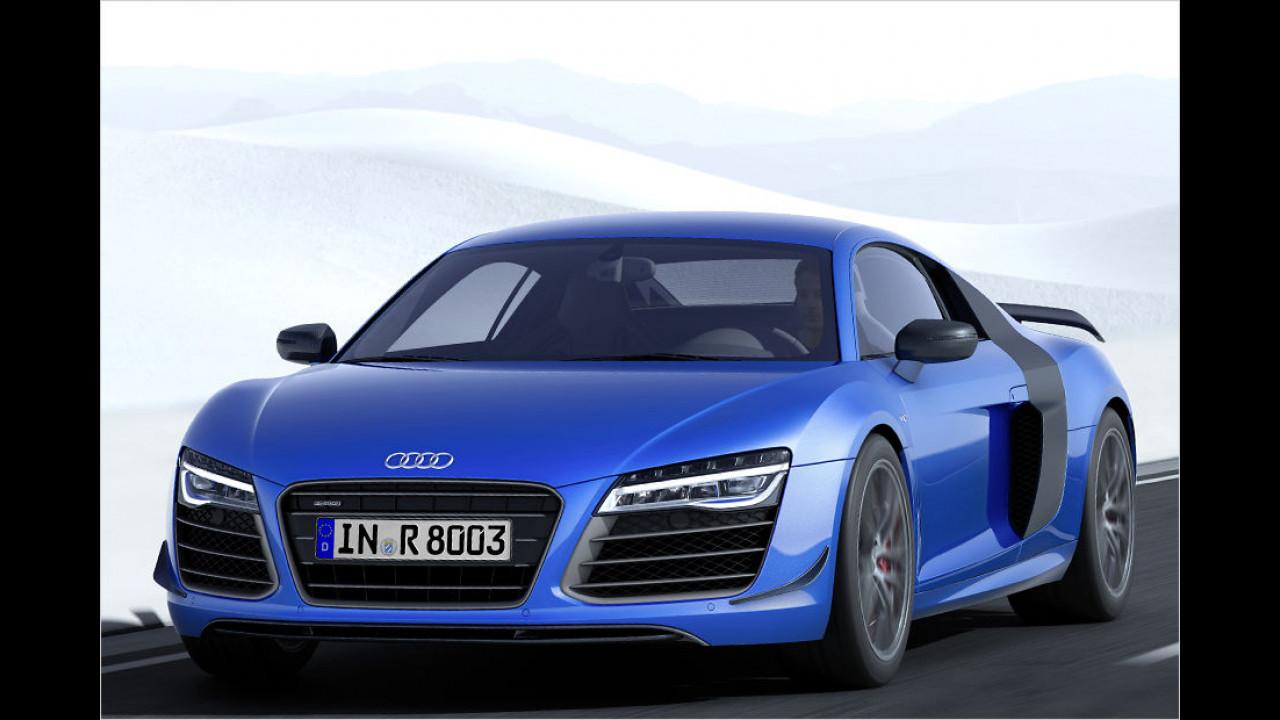 Audi R8 LMX: Mit Laser-Augen