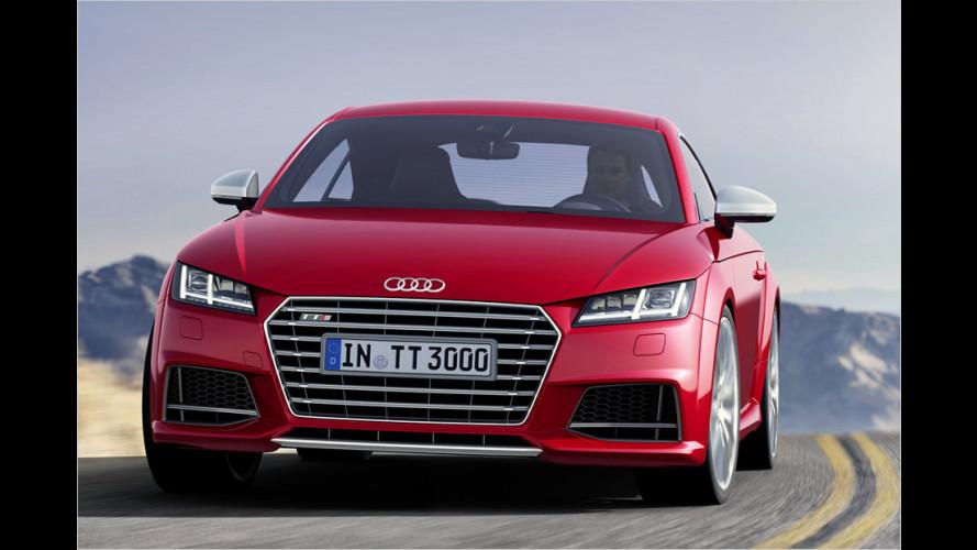 Audi TT: Neue Version auf dem Genfer Autosalon 2014