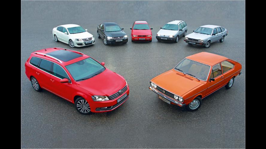 VW-Historie: 40 Jahre Passat