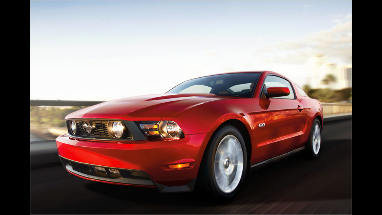 Zwei Exemplare: Ford Mustang