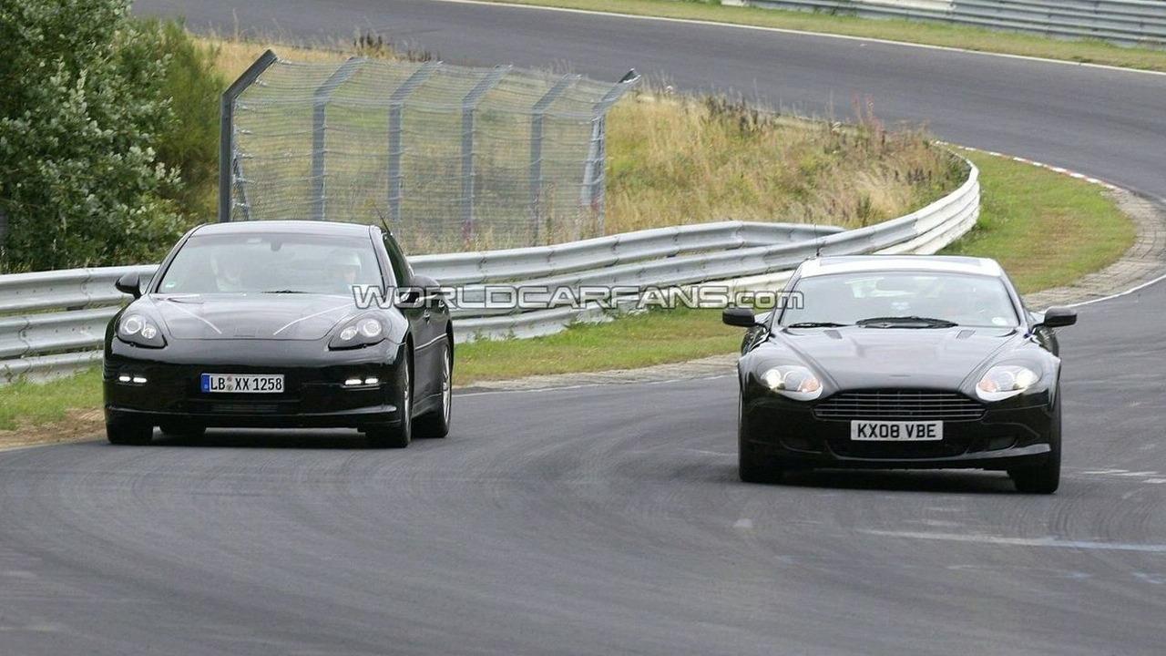 Aston Martin Rapide Vs Porsche Panamera 46312