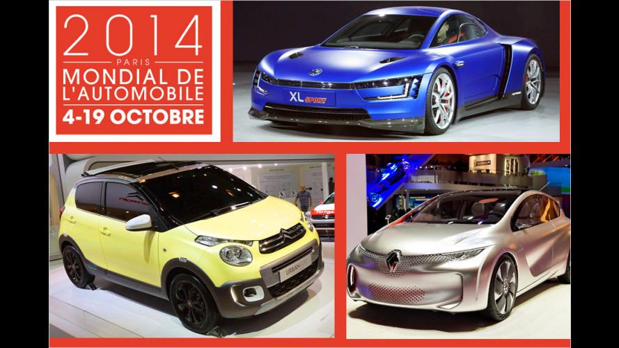 Die Studien des Pariser Autosalons 2014