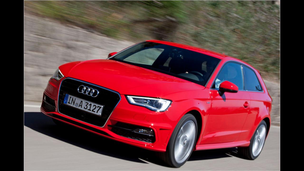 Platz 4: Audi A3, 5.294 Neuzulassungen