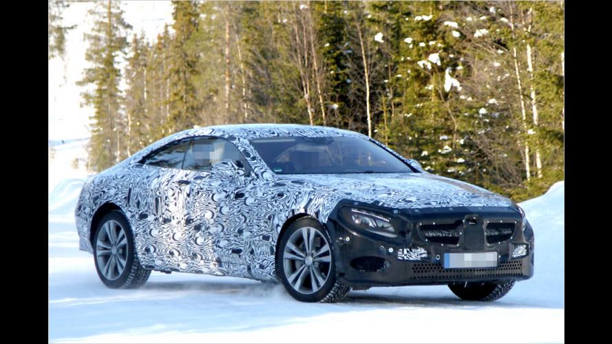 Erwischt: Mercedes S-Klasse Coupé