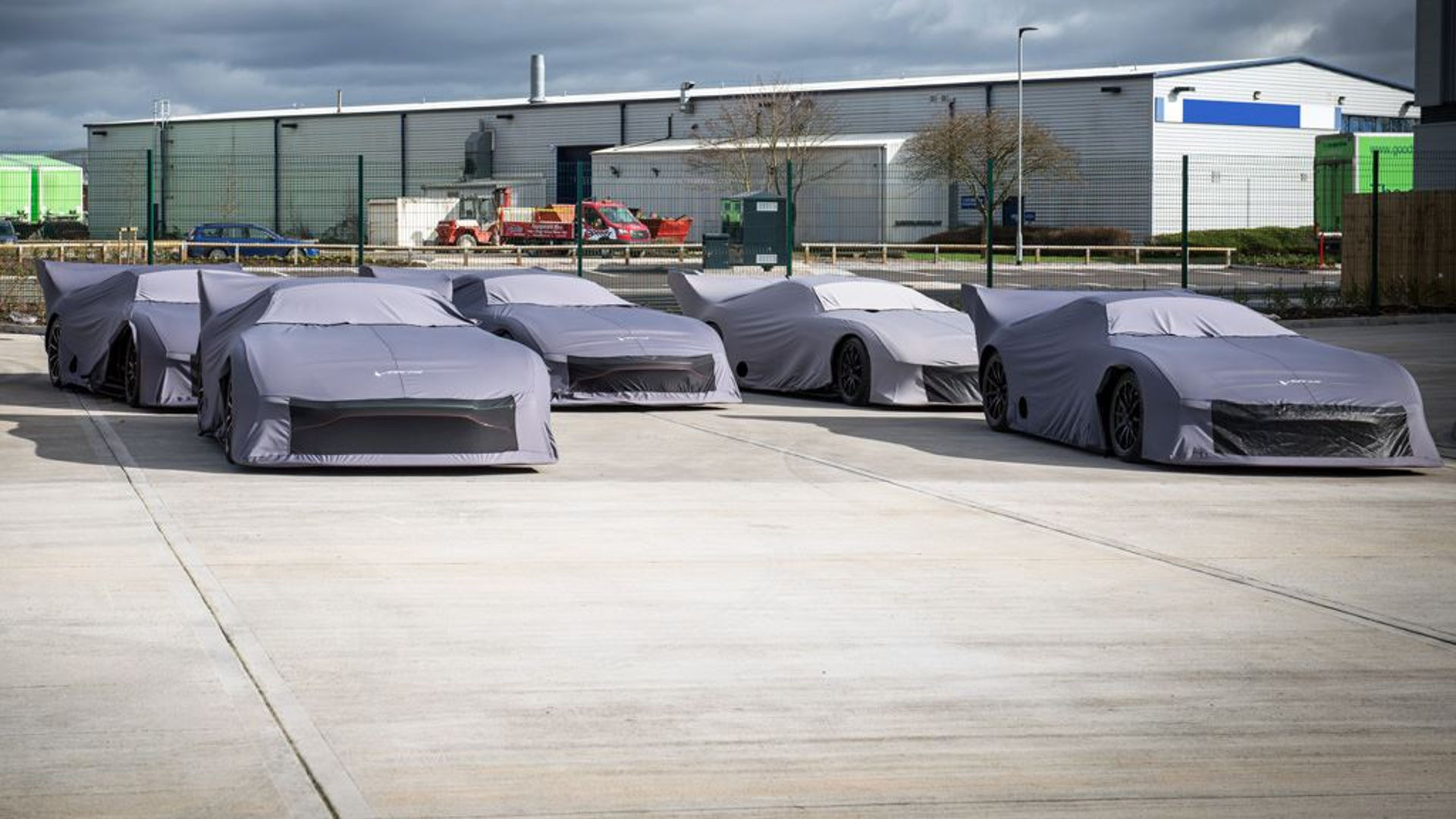 11 5m Worth Of Aston Martin Vulcans Packed And Ready For Delivery