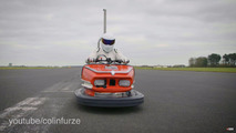 The Stig bumper car Guinness record