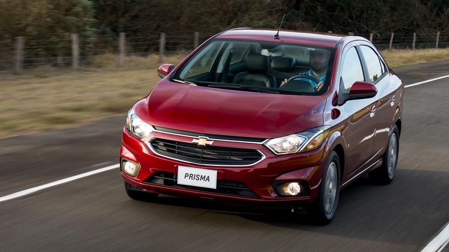 Sedãs compactos mais vendidos: Chevrolet Prisma tem maior evolução em mês de queda