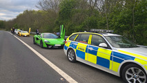 Seized supercars