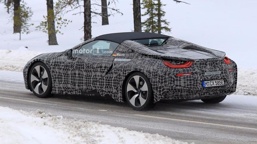 El BMW i8 Roadster podría doblar la autonomía eléctrica del Coupé
