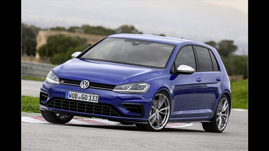 Test VW Golf R (2017)
