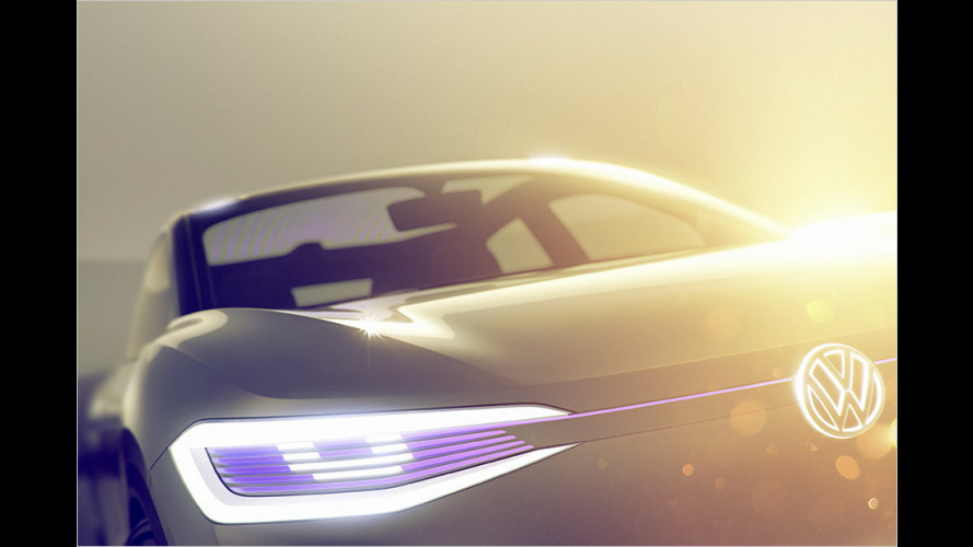 VW zeigt neue Elektro-Crossover-Studie