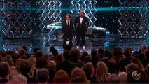 Back to the Future DeLorean at the 2017 Oscars