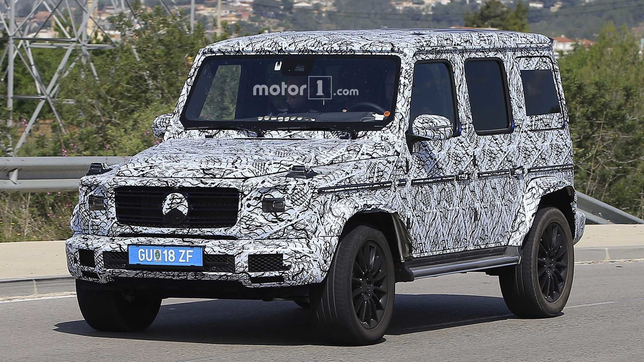 2018 Mercedes G Cl Spy Photo