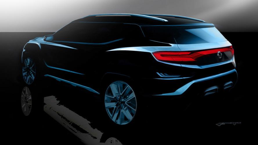 SsangYong XAVL Concept teaser