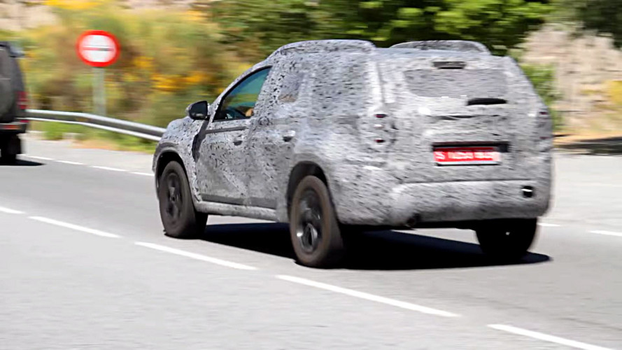 2018 Dacia Duster First Spy Video Pops Up