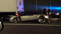 Pagani Huayra BC crash