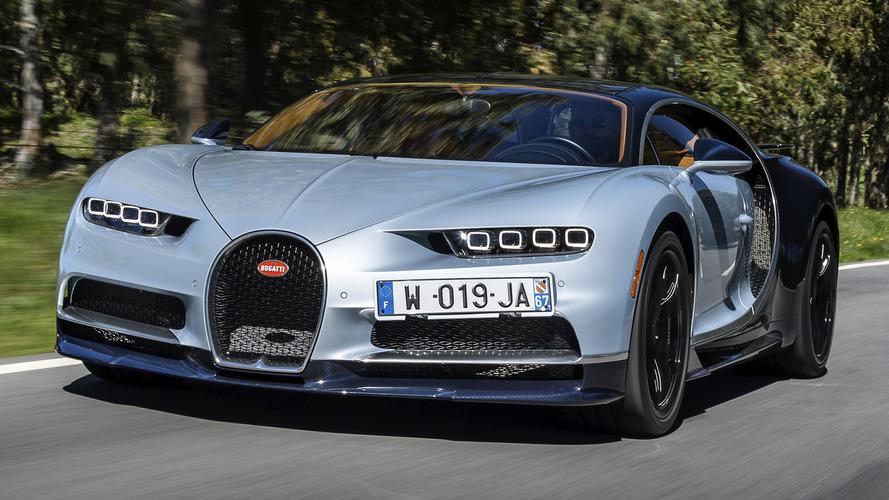 Cristiano Ronaldo estrena coche: un Bugatti Chiron 2018