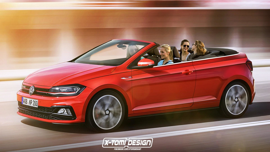 Design - La Volkswagen Polo GTI en version Cabriolet ?
