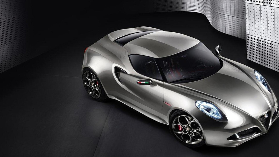 Alfa Romeo refreshes the 4C Concept for Frankfurt