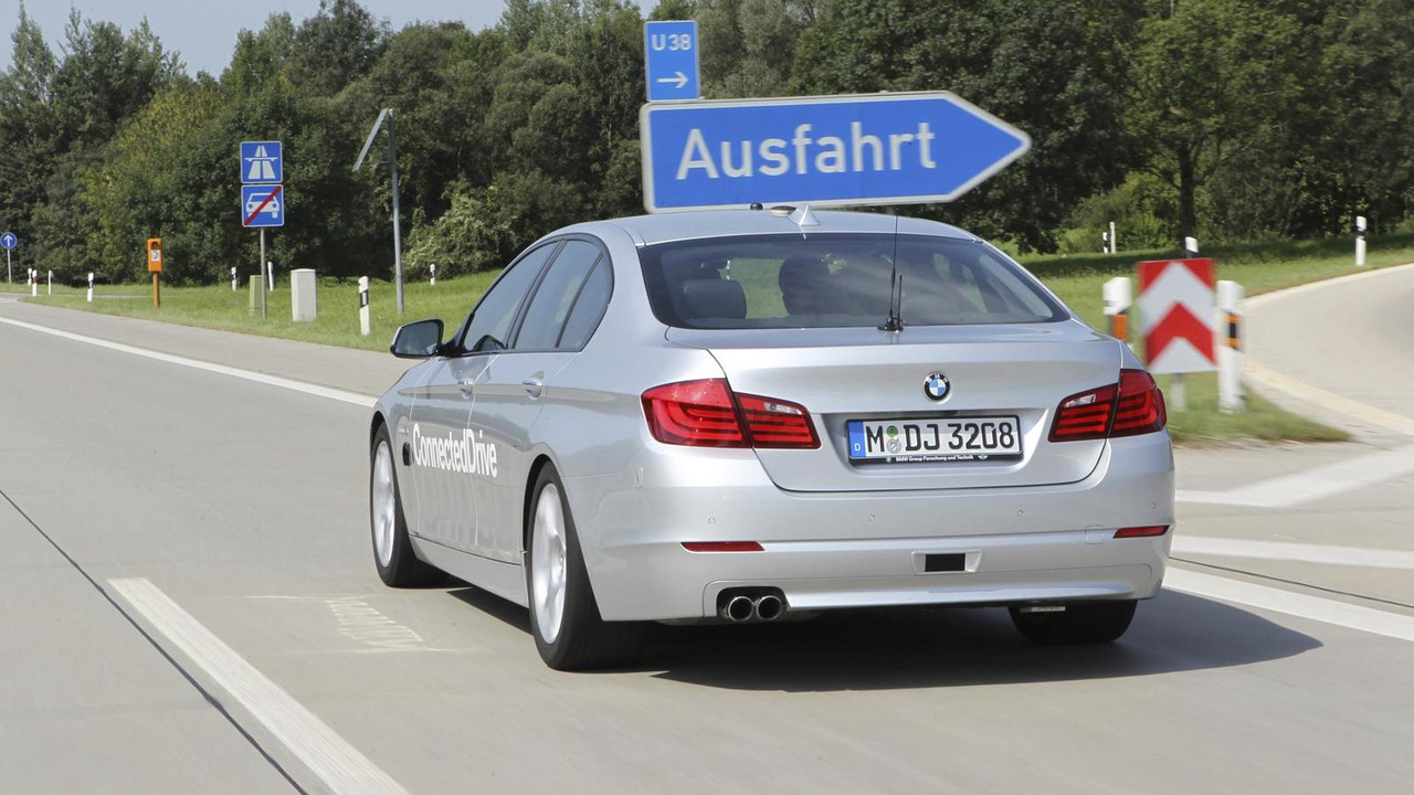 BMW 5 Series: ConnectedDrive