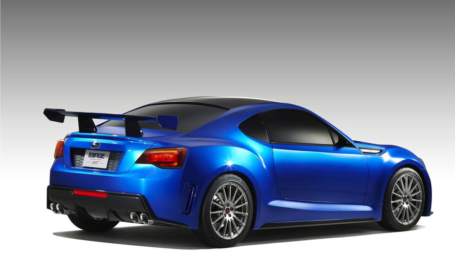 Subaru BRZ STI concept revealed - confirmed for LA debut