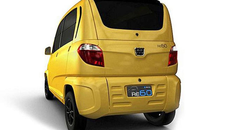Bajaj RE60 revealed - Renault & Nissan variants possible