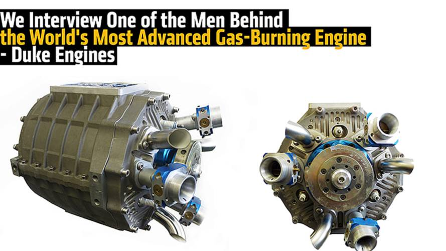 World's Most Advanced Gas Engine? We Interview Chief Technology Officer at Duke Engines