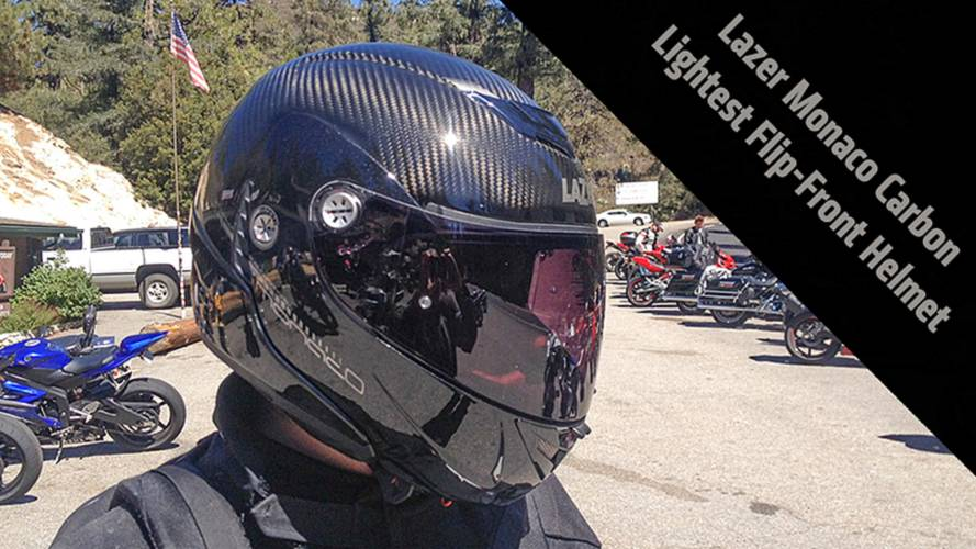 Review: Lazer Monaco Carbon Modular Helmet - The Lightest Flip-Front