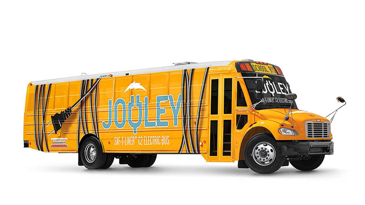 Jouley Elektro-Schulbus