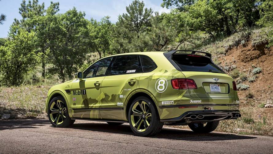 Bentley Taking Pikes Peak Bentayga To Goodwood