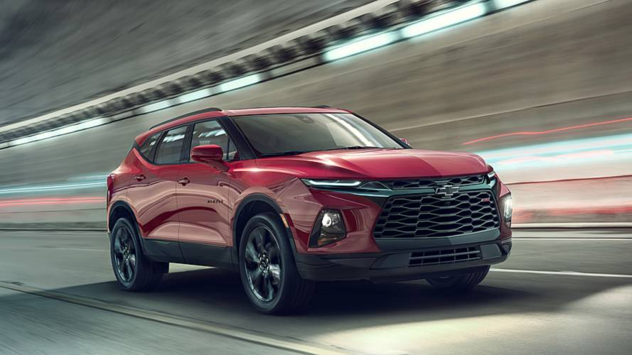 Brawny Looking 2019 Chevy Blazer Starts At $29,995