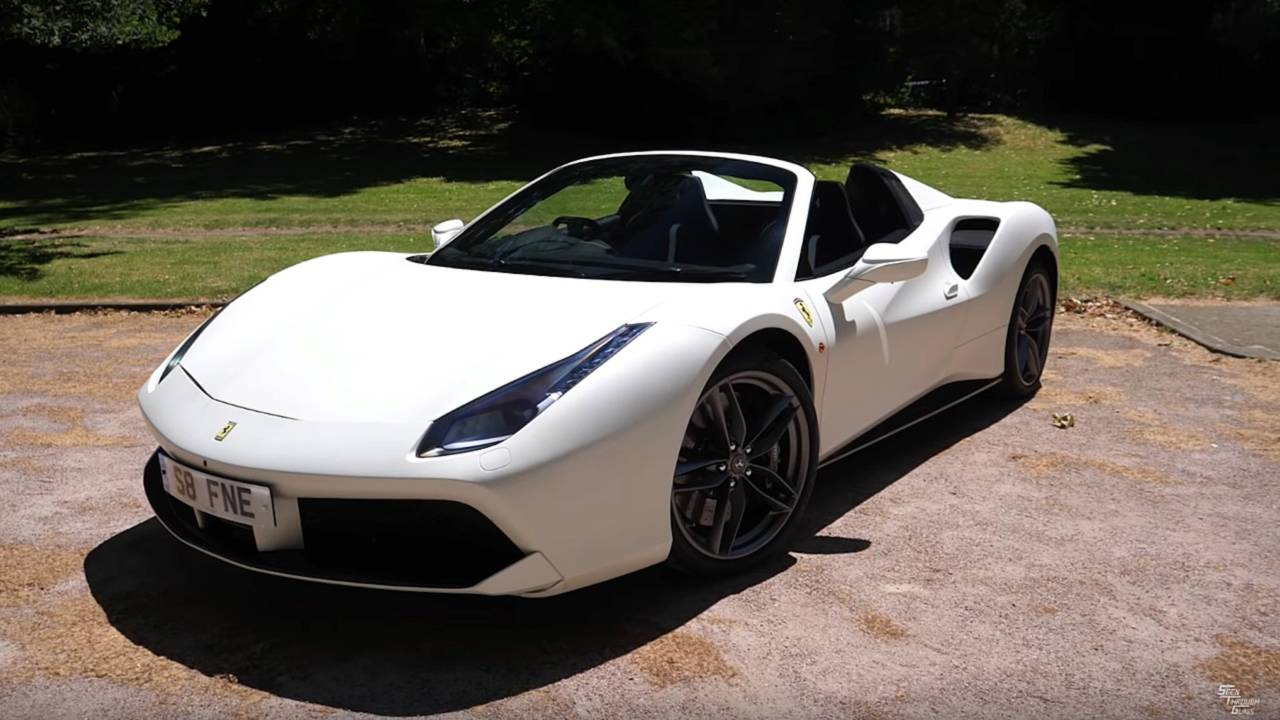 Ferrari 488 Spider With 146 000 Worth Of Options Detailed