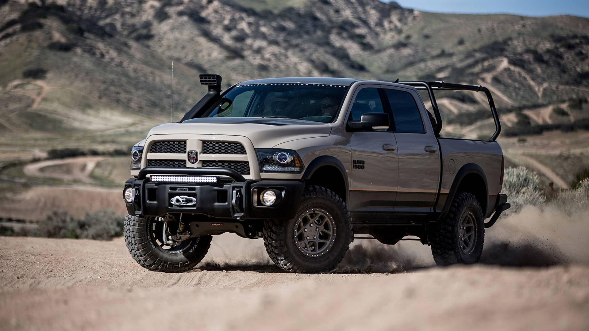AEV Recruit Ram Pickup Adds Tons Of Aftermarket Toughness