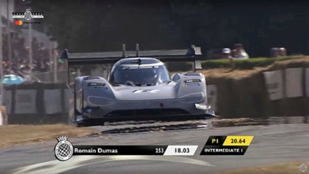 Romain Dumas et sa I.D. R ne battent pas le record de Goodwood