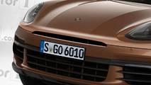 Porsche Macan restyling, il rendering