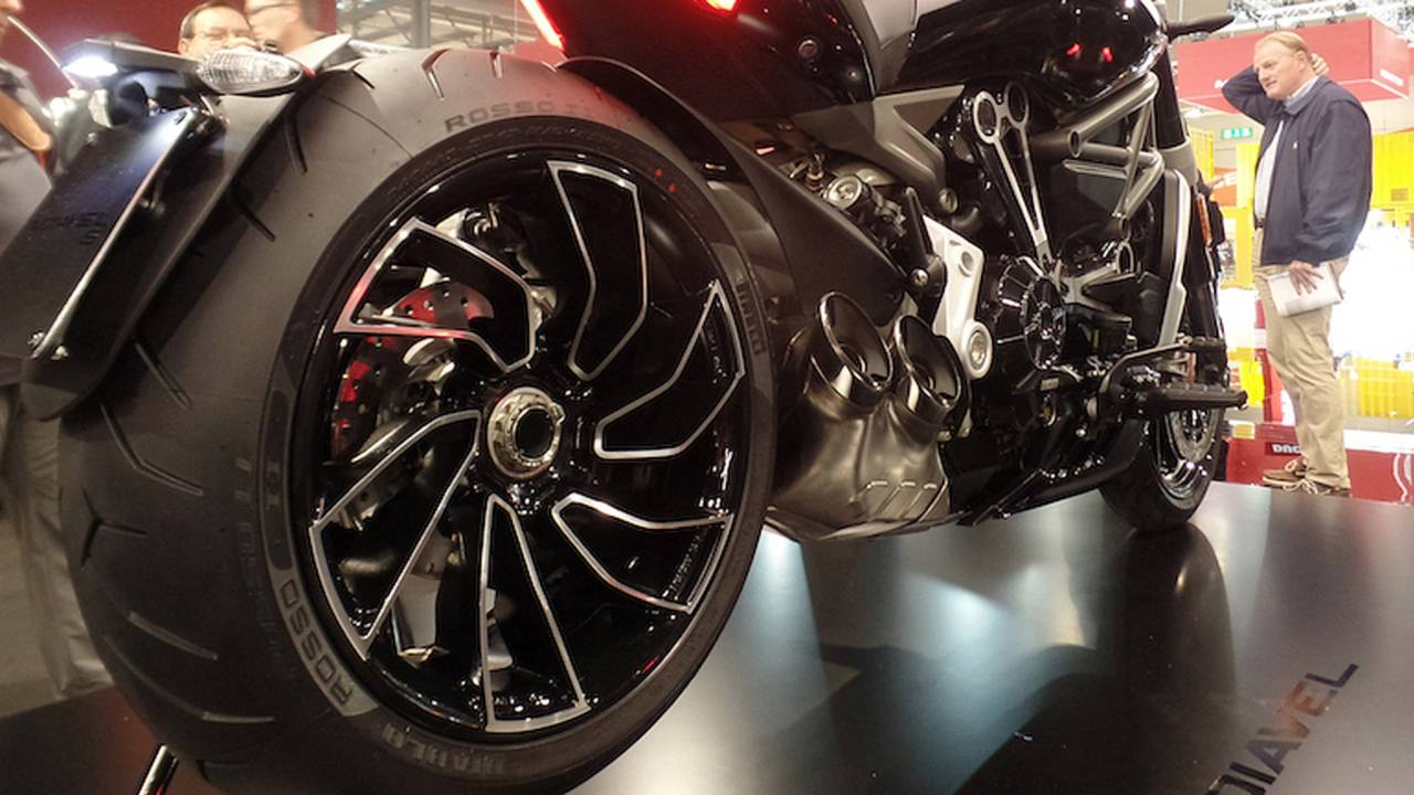 Wrong-Way Wheels Force Ducati XDiavel S Recall