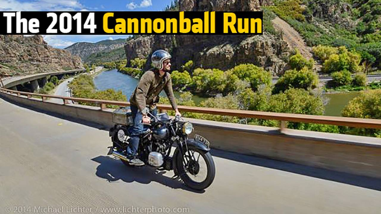 The 2014 Cannonball Run