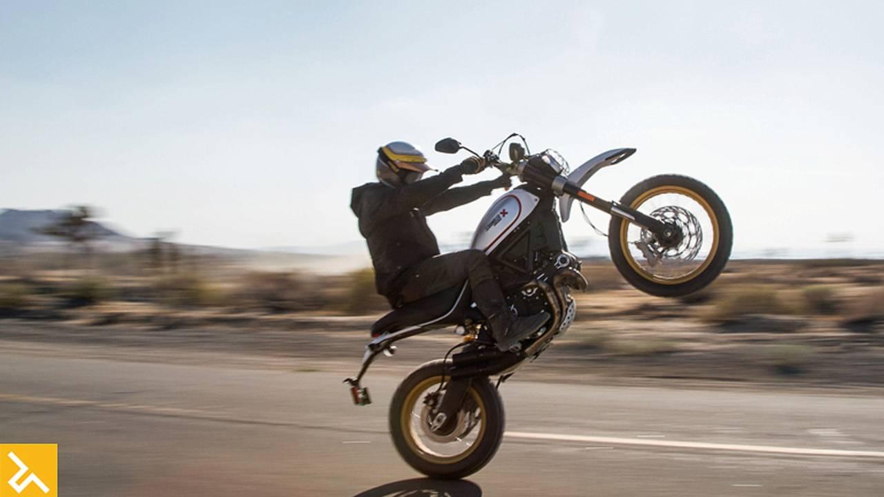 2017 Ducati Desert Sled Gets Dirty Italian Style