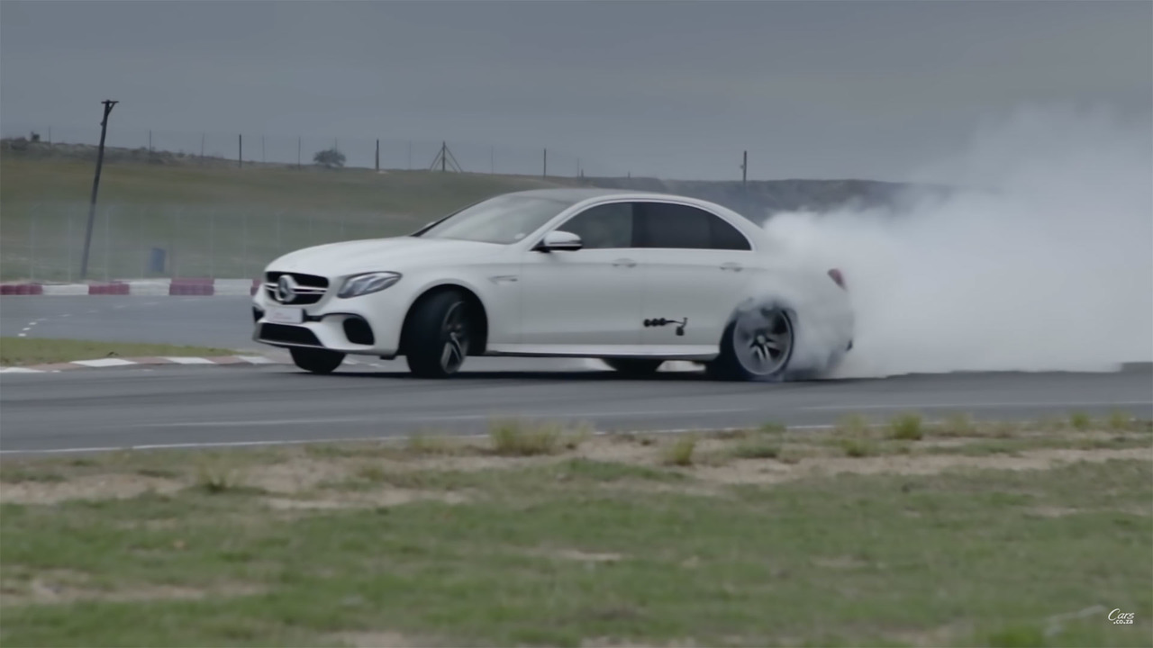 Mercedes-AMG E63 S Drift