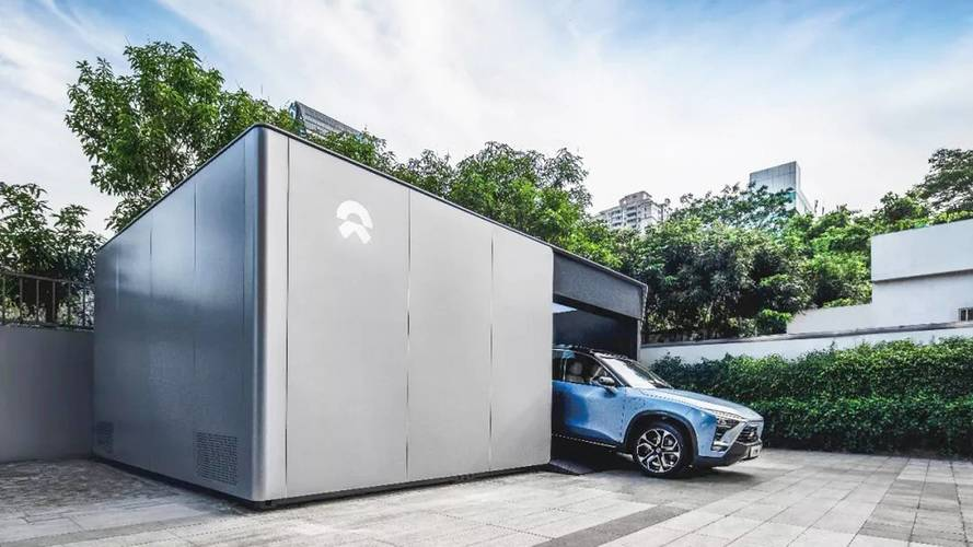 Nio apre la prima stazione di scambio batteria per auto elettriche