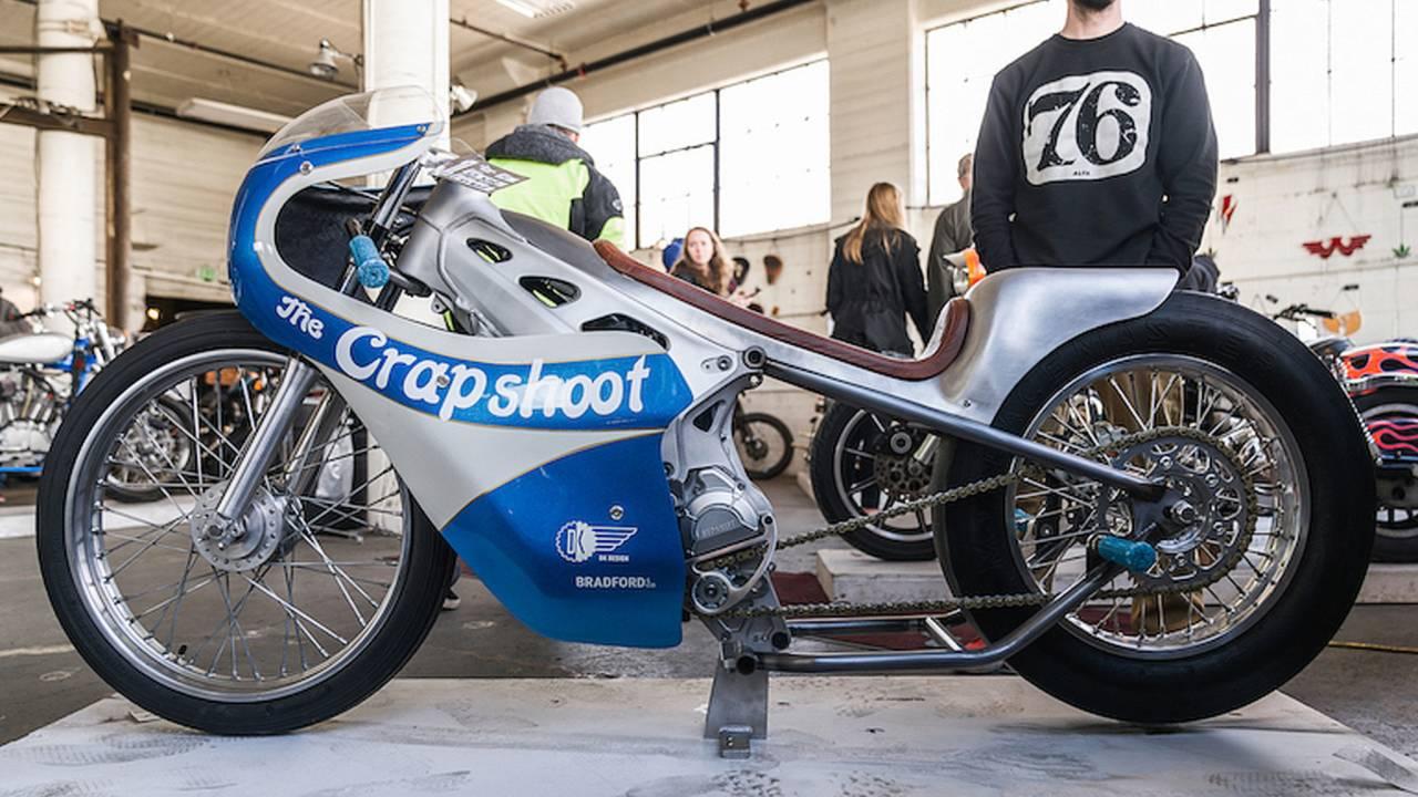 """Bike of the Week: Alta Motor's """"The Crapshoot"""" Drag Racer"""