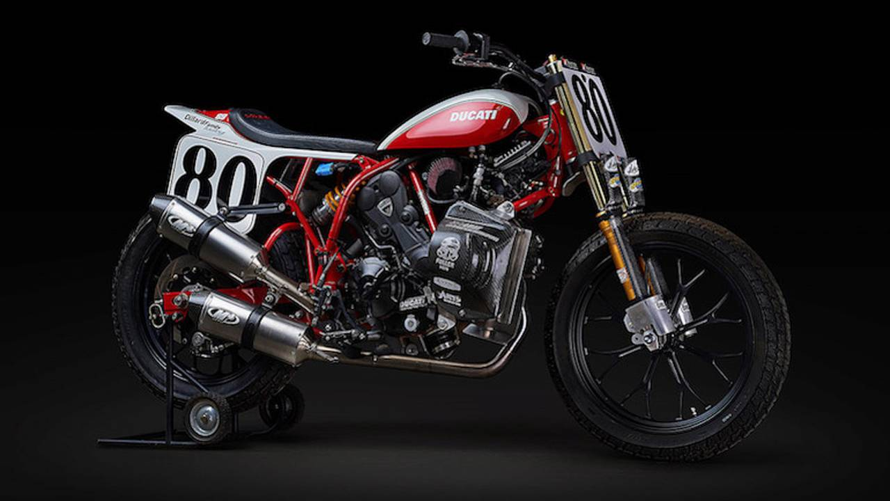 Ducati Sets Sights on American Flat Track Grand National Series
